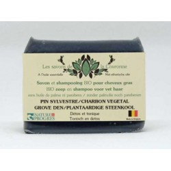 Savon & shampooing au Pin...