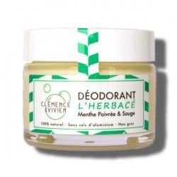 Déodorant l'herbacé menthe...